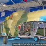 Вертолет Ми-8 в десантном варианте в музейном комплексе парка Патриот
