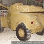 Французский бронеавтомобиль Panhard AML-245E в музейном комплексе парка Патриот