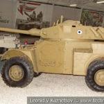 Французский бронеавтомобиль Panhard AML-245C с башней H-90-70 в музейном комплексе парка Патриот