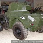 Английский бронеавтомобиль Daimler Mk.II в музейном комплексе парка Патриот
