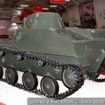 Легкий танк Т-40С в музейном комплексе парка Патриот