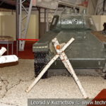 Легкий танк Т-50 1940 года в музейном комплексе парка Патриот