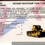 Легкий двухбашенный танк Т-26 в музейном комплексе парка Патриот