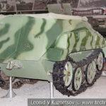 Немецкий полугусеничный бронетранспортер Sd. Kfz. 250/1 в музейном комплексе парка Патриот