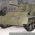 76-мм самоходная артиллерийская установка СУ-76М в музейном комплексе парка Патриот