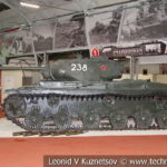 Опытный тяжелый танк КВ-85Г Объект 238 в музейном комплексе парка Патриот