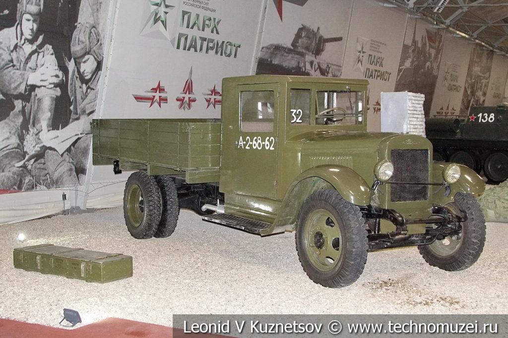 Грузовой автомобиль ЗиС-5 в музейном комплексе парка Патриот
