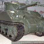 Американский средний танк M4A4 Sherman в музейном комплексе парка Патриот
