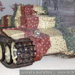 Немецкий пехотный штурмовой танк Pz. Kpfw. I Ausf. F в музейном комплексе парка Патр