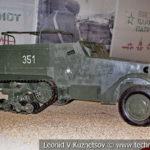 Американский бронетранспортер M3 в музейном комплексе парка Патриот