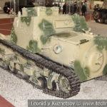 Итальянская танкетка FIAT-Ansaldo CV-35 в музейном комплексе парка Патриот