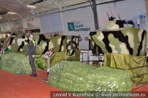 Динамические тренажеры экипажей бронемашин в музейном комплексе парка Патриот
