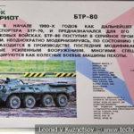 Бронетраспортер БТР-80 в музейном комплексе парка Патриот