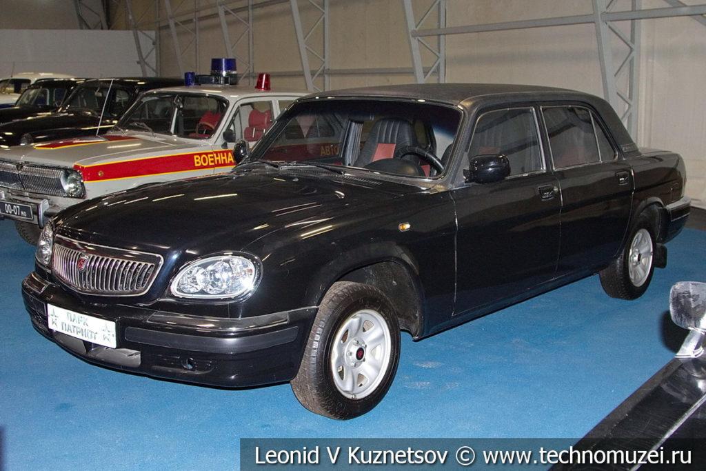 """ГАЗ-31105 """"Волга"""" РИДА в музейном комплексе парка Патриот"""