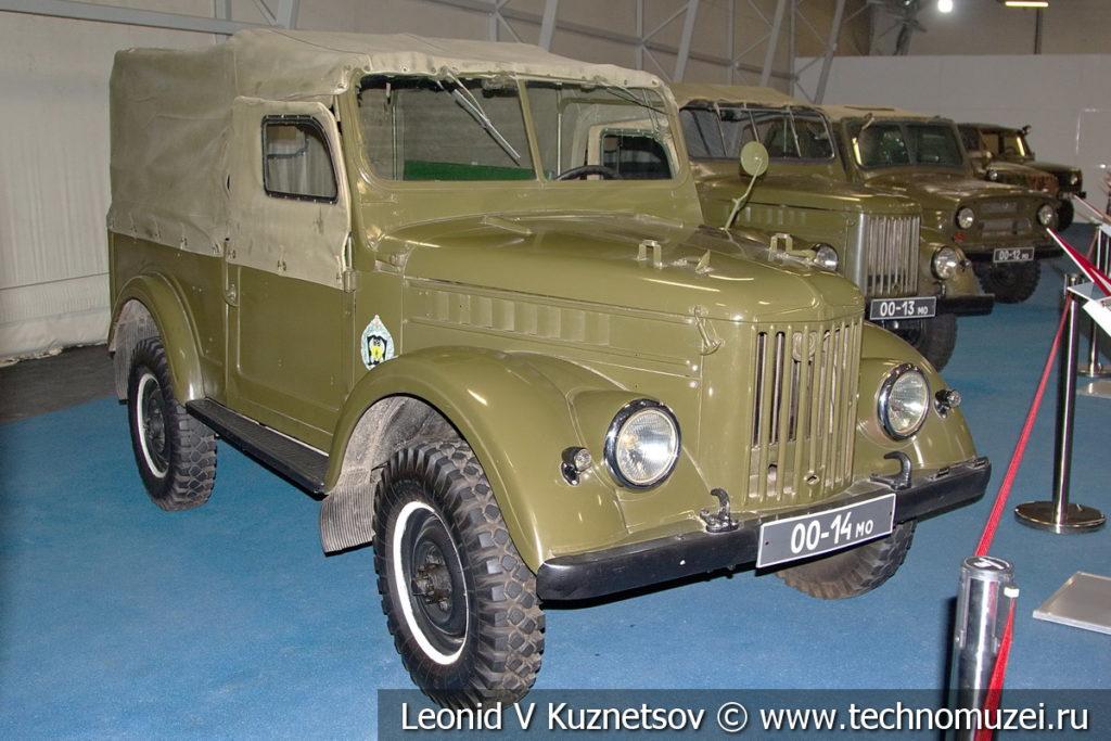 ГАЗ-69 в музейном комплексе парка Патриот