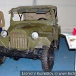 ГАЗ-67Б в музейном комплексе парка Патриот