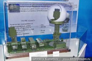 Комплекс машин радиолокационной станции 102Ж6 Сопка-2 в музейном комплексе парка Патриот