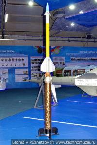 Зенитная управляемая ракета Панцирь-CL (57Э6) в музейном комплексе парка Патриот