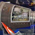 Отсек специальной аппаратуры спутника видовой разведки 11Ф624 Янтарь-2К в музейном комплексе парка Патриот