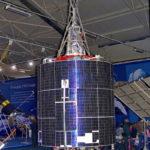 Навигационные спутники Парус в музейном комплексе парка Патриот