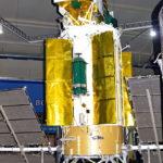 Навигационный спутник 11Ф654М Глонасс-М в музейном комплексе парка Патриот