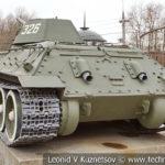 Средний танк Т-34-76 1941 года в музее Победы на Поклонной горе