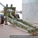 122-мм корпусная пушка-гаубица А-19 образца 1931/1937 годов в музее Победы на Поклонной горе