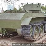 Колесно-гусеничный танк БТ-7 1935 года в музее Победы на Поклонной горе