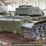 Средний танк Т-44 Объект 136 1945 года в музее Победы на Поклонной горе