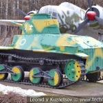 Японский танк Ha-Go Type 95 1935 года в музее Победы на Поклонной горе