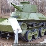 Японский штурмовой танк Ke-Nu Type 4 1941 года в музее Победы на Поклонной горе