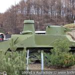 Японский танк Ka-Mi Type 2 1941 года в музее Победы на Поклонной горе