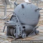 Якорная гальваноударная мина образца 1908-1939 годов в музее Победы на Поклонной горе