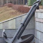 Адмиралтейские якоря в музее Победы на Поклонной горе