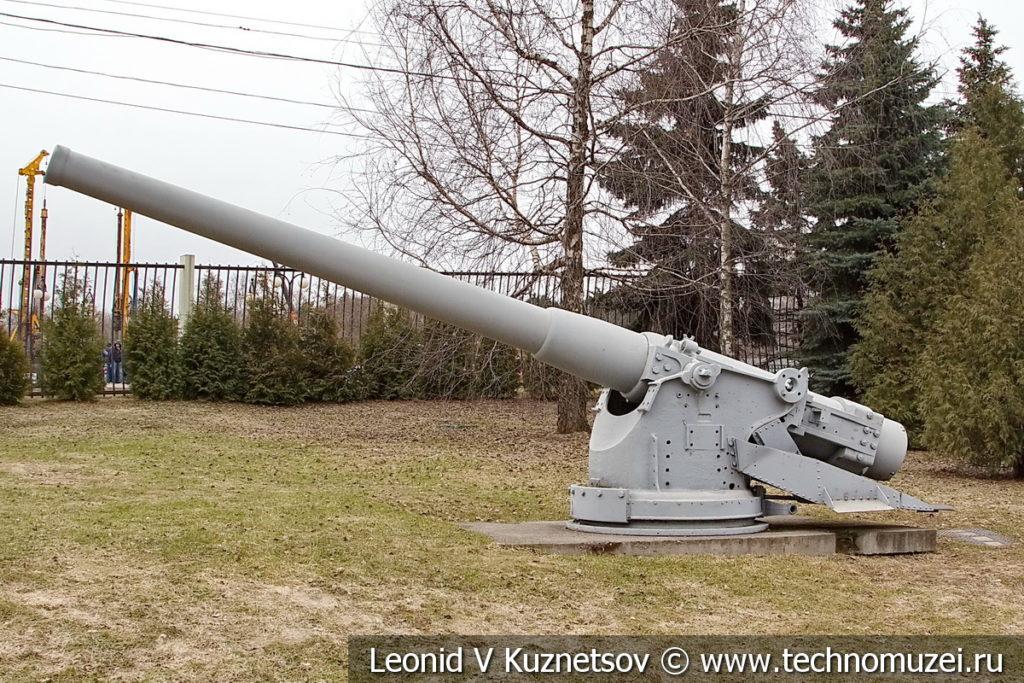 152-мм морская пушка Канэ 1891 года в музее Победы на Поклонной горе