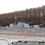Стилизованная палуба эсминца в музее Победы на Поклонной горе