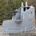 """Рубка средней подводной лодки V-бис 2-й серии Щ-307 """"Треска"""" в музее Победы на Поклонной горе"""