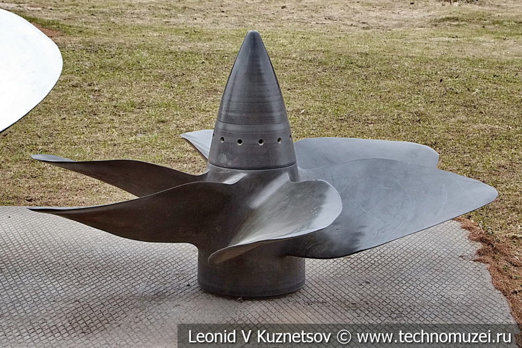 Гребной винт 611-Л13-АБ26 подводных лодок в музее Победы на Поклонной горе