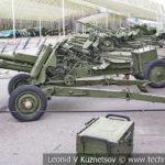 76-мм горная пушка М-99 (ГП) образца 1958 года в музее Победы на Поклонной горе