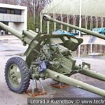 85-мм опытная противотанковая пушка ЗиС-С-8 1945 года в музее Победы на Поклонной горе