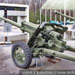 76-мм опытная противотанковая пушка ЗиС-С-58-1 1944 года в музее Победы на Поклонной горе