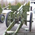 76-мм опытная дивизионная пушка Ф-20 1935 года в музее Победы на Поклонной горе