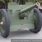 76-мм опытная полковая пушка образца 1927/42 годов в музее Победы на Поклонной горе