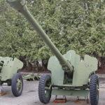 85-мм дивизионная пушка Д-44 образца 1946 года в музее Победы на Поклонной горе