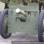 76-мм полковая пушка 52-П-353 образца 1927 года в музее Победы на Поклонной горе