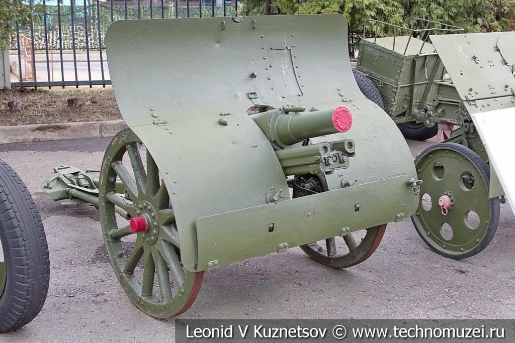 76-мм горная пушка образца 1909 года в музее Победы на Поклонной горе