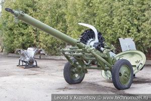 160-мм дивизионный казнозарядный миномёт образца 1949 года М-160 (52-М-583) в музее Победы на Поклонной горе