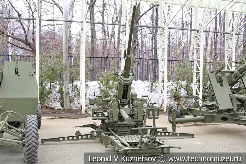 37-мм американская зенитная пушка M3 1939 года в музее Победы на Поклонной горе