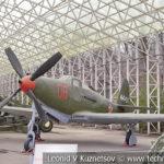 Истребитель Bell P-63 Kingcobra в музее Победы на Поклонной горе