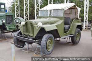 ГАЗ-67Б 1944 года в музее Победы на Поклонной горе
